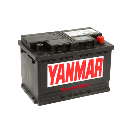 Batterie 242x175x190, 60Ah, 540A, Polarität(+) links
