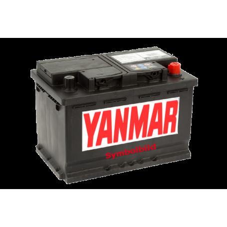 Batterie 238x129x227, 45Ah, 330A, Polarität(+) rechts