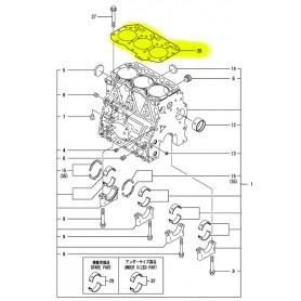 Yanmar SV26 Zylinderkopfdichtung Motor 3TNV82-ABPBVA