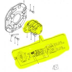 Yanmar SV15, SV15-2, SV16, SV17-2 Hydraulikpumpe