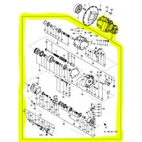 Yanmar SV100-1 Hydraulikpumpe