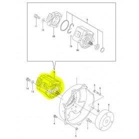 Yanmar SV08-1, SV08-1A, SV08-1EX, SV08-1AS Hydraulikpumpe