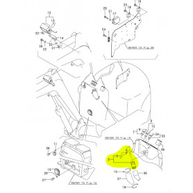 Yanmar SV08-1, SV08-1A, SV08-1EX, SV08-1AS Zündschloß und Schlüssel