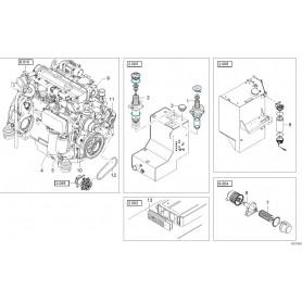Keilriemen SPA11.9x950 Schaeff TW110