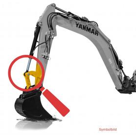 Bolzen und Büchsen Kit - Löffelgelenk für Yanmar B12, B14, B17