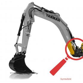 Bolzen und Büchsen Kit - Auslegerfuß für Yanmar B15-3, B15-3EX, B17-3