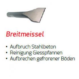 BREITMEISSEL für Yanmar Hydraulikhammer DMS 95/2  Ø 45