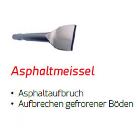 ASPHALTSCHNEIDER für Yanmar Hydraulikhammer DMS 400 Ø 80